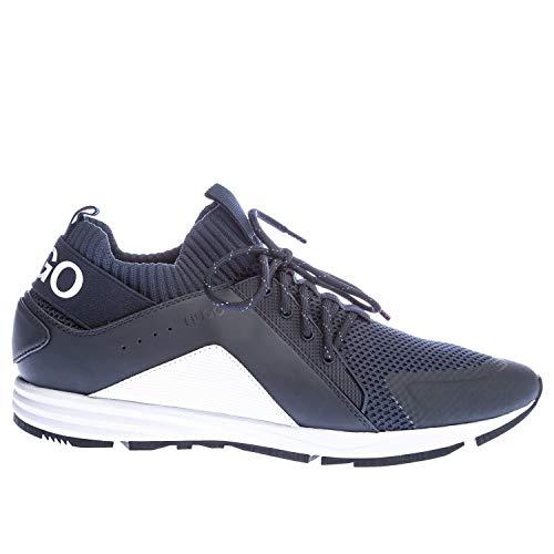 HUGO Hybrid_Runn_knmx Herren Sneaker Blau