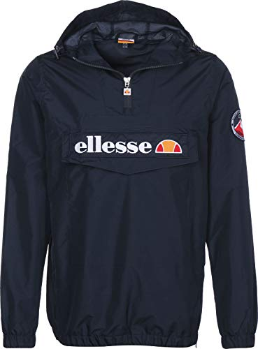 ellesse Jacke Herren Mont 2 OH Jacket Dunkelblau Dress Blue, Größe:L