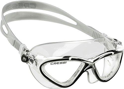 cressi-saturn-lunettes-de-natation-transparent-noir