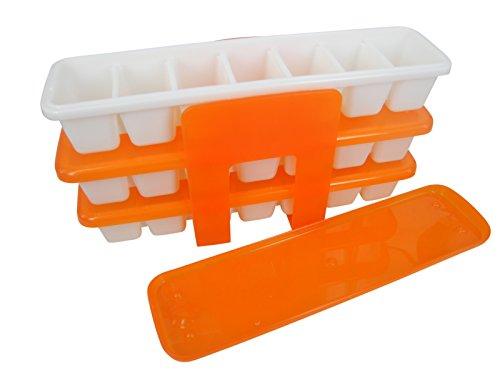 3ahorra espacio Ice-Cube bandejas/cajas de almacenamiento–7c