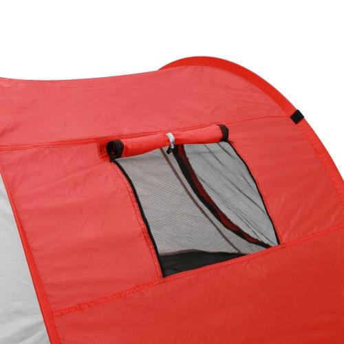 29 95 jago strandmuschel campingzelt popup wurfzelt fr 2 personen ca 21913082 cm uv schutz. Black Bedroom Furniture Sets. Home Design Ideas
