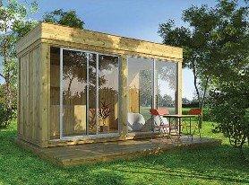 Galleria fotografica Gazebo in legno da giardino da 8mq a 21mq