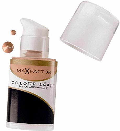 3 x Max Factor Colour Adapt Skin Tone Adapting Foundation 34ml - 50 Porcelain