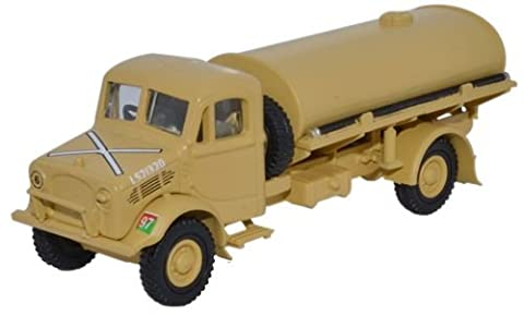 OXFORD DIECAST 76BD007 HQ Corps RASC Bedford OY 3 Ton Water Tanker