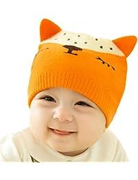 Bonnet Bébé - Enfant Crochet Stripe Casquette Chaud Avec Oreilles - hibote  · EUR 3,89 · Bébé Tricot Beanie Hat - Toddler Infant Enfants Crochet Warm  Caps ... 6782107e7c5