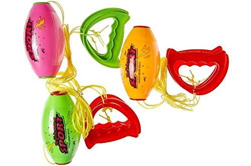 ch Speed Ball auf 2 Seilen, Jumbo Speed Ball, Zugball, der Strandspaß, Gartenspaß, Campingplatz ()