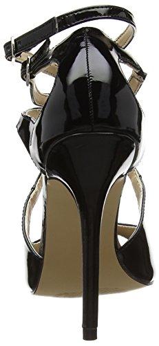 PleaserAmu15/b - Scarpe con Tacco donna Nero (Nero)