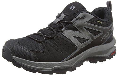 Salomon X Radiant GTX, Scarpe da Hiking Uomo, Nero Magnet/Black), 46 EU