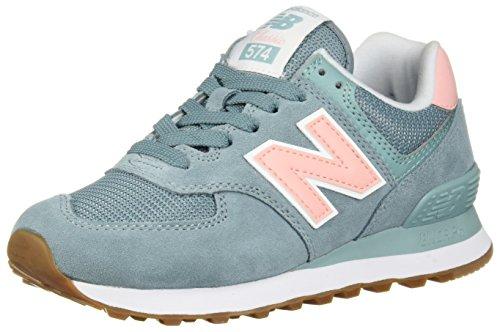 New Balance Damen 574v2 Sneaker, Grau (Smoke Blue/Himalayan Pack/Mineral Sage FLB), 36 EU