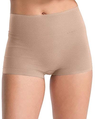 Spanx Womens Everyday Shaping Seamless Boy Short with Hidden Shaping Waistband
