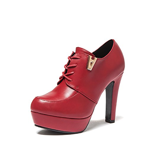 wangfeier-womens-fashion-new-style-low-heel-pumps-shoes-size-45-uk-red