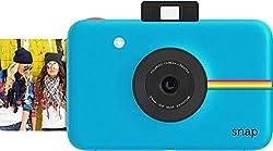 Polaroid Digitale Instant Snap Kamera mit Zink Zero Ink Technologie, Blau