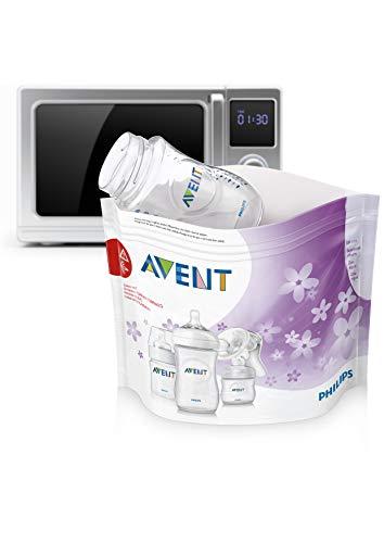 Preisvergleich Produktbild AVSL Bügelkopfhörer 3 x Avent Mikrowellen-Dampfsterilisator Staubbeutel (5 Stück)
