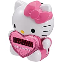 Hello Kitty AM/FM Projection Alarm Clock Radio