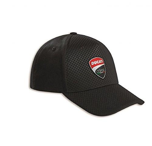 Ducati Corse Carbon Mütze schwarz (Mütze Carbon)