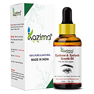 KAZIMA Eyebrow & Eyelash Grow Oil (30ML) For Women