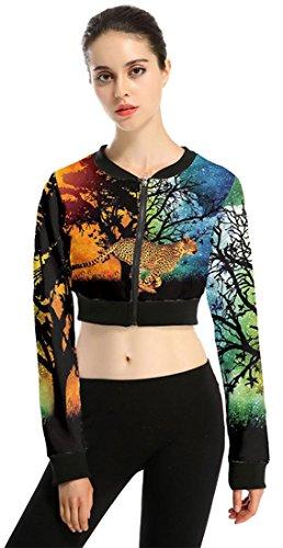 Belsen - Sweat-shirt - Femme Medium guépard