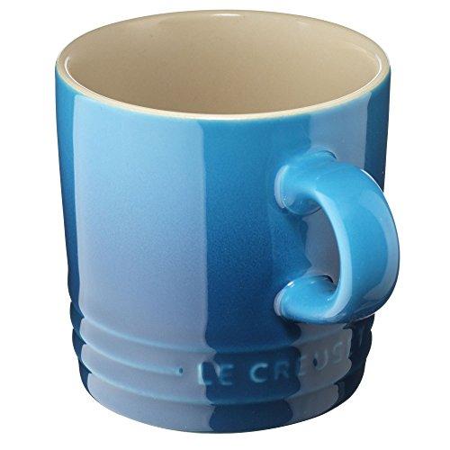 Le Creuset Tasse à Cappuccino en céramique 0,20L bleu marseille