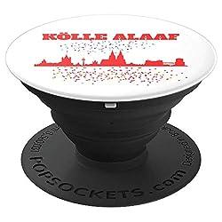 Köln Skyline Kölner Dom Fasching Karneval Kölle Alaaf - PopSockets Ausziehbarer Sockel und Griff für Smartphones und Tablets