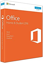Microsoft Office Home & Student 2016 For 1 Windows PC laptop- Lifetime license (Activation Key C