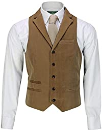 Xposed Mens Soft Corduroy Blazer Coat Vintage Retro Tailored Suit Jacket or  Waistcoat 0babc6e664a
