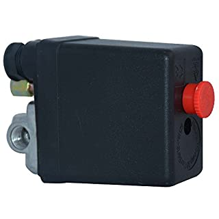 Miss Morgen Druckschalter Druckregler 1-phasig für Güde Kompressor 250V 1/4