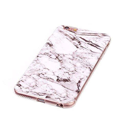 Pour iPhone 6 / iPhone 6s étui protecteur arrière antidérapant Black Marbling Pattern Soft TPU JING ( SKU : Ip6g0101d ) Ip6g0101d