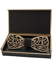 The Elegant Wooden Bow Tie