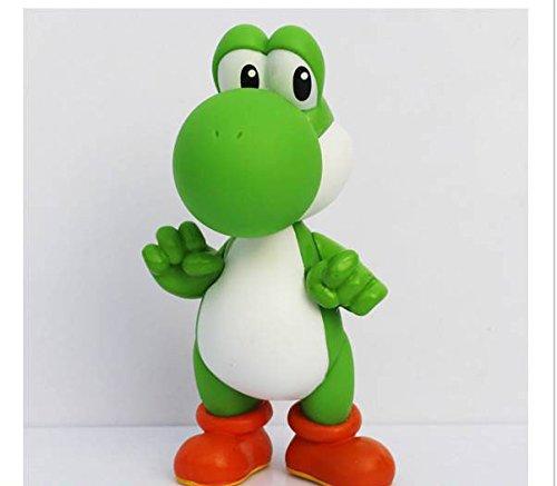 3pcs/set Super Mario Bros Luigi Mario Yoshi PVC Action Figures toy 13cm by Brand New 3