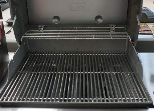 Stellfeld und Ernst 9 mm Edelstahl-Grillrost für Weber Genesis 600er Serie Gas-Grill Ersatz-Rost -