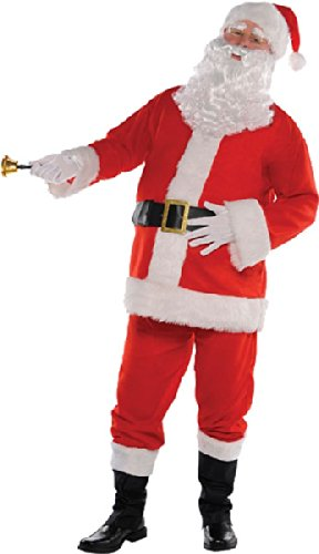 Kostüm Classic Santa - Neue Weihnachten Classic Herren Santa Suit Fancy Dress Party Kostüm