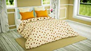 COZY FURNISH® Microfiber - AC Comforter/Duvet/Quilt Special for All Seasons - Printed Comforter - Reversible C