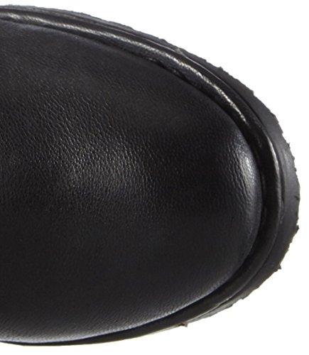 Bugatti J59341G Damen Langschaft Stiefel Schwarz (schwarz 100)