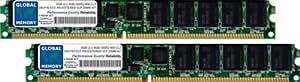 8Go (2 x 4Go) DDR2 400MHz PC2-3200 240-PIN ECC ENREGISTRÉ VLP DIMM MÉMOIRE RAM KIT POUR SERVEURS/WORKSTATIONS/CARTES MERES (4 RANK KIT)