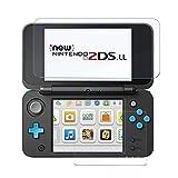 Protection d'écran pour Nintendo 2DS XL / 3DS XL Hobby Concept, Verre trempé pour Console Nintendo 2DS XL, 3DS XL Partie supérieur et inférieure Ultra résistant 9H Transparent