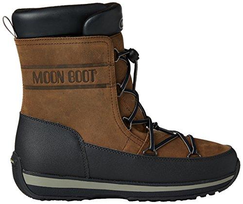 Moon Boot Lem Lea, Stivaletti, Uomo Marrone/Nero