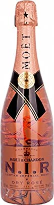 Moet & Chandon N.I.R. Nectar Imperial Dry Rosé Luminous Edition (1 x 0.75 l)