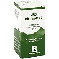 Jso Bicomplex Heilmittel Nummer 3 150 stk preisvergleich bei billige-tabletten.eu