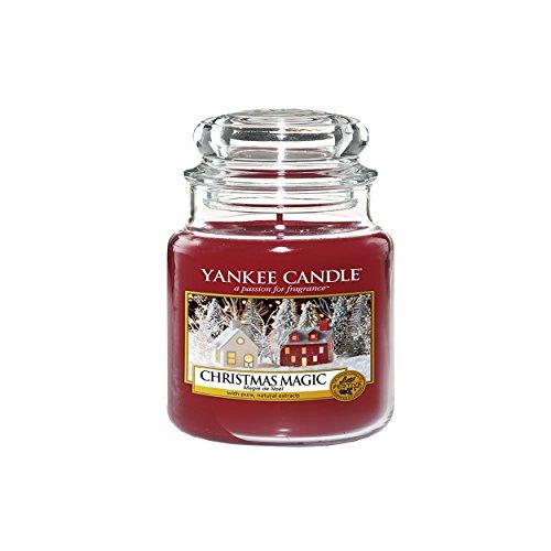 Yankee Candle Weihnachtszauber, Kerze (Kleines Glas), Rot, 5,8 x 5,8 cm