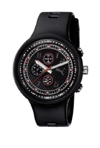 Puma Time Motorsport  Herren-Armbanduhr XL Slick Chronograph Plastik A.PU910401001 (Puma Slick)