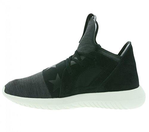 Adidas Donna S80291 Tubular Defiant W Black Black White BLACK BLACK WHITE