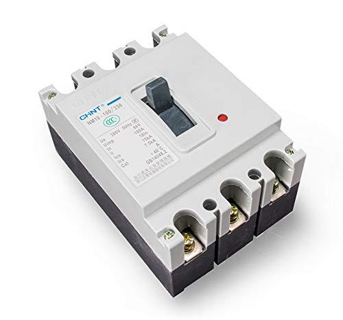 Nm10 Mini (ZTZT Kompaktleistungsschalter NM10-100/330 100A Überlastkurzschlussschutz Automatischer Luftschalter 100A 3P, 60A)