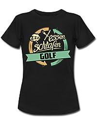 Sport Design Golf RAHMENLOS Geschenk Hobby Frauen T-Shirt von Spreadshirt®