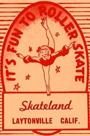 Feelingathome-Leinwand-Bild-Sein-Fun-To-Roller-Skate-cm86x57-Kunstdruck-auf-Leinwand (Roller Skate Kunst)