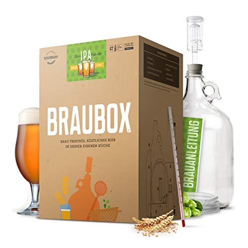 Braubox®, Sorte IPA   Bierbrauset zum Bier brauen in der Küche   mit Erfolgsgarantie von Besserbrauer