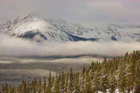 canada-banff-np-a-low-cloud-bank-in-the-valley-fine-art-print-on-matt-cotton-canvas-print-only-no-fr