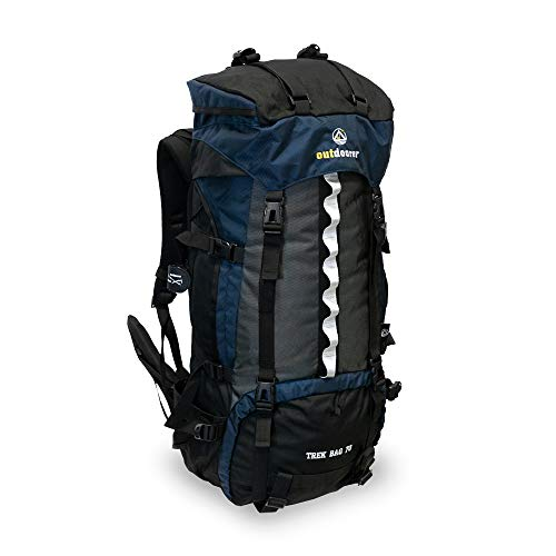 outdoorer Trekkingrucksack Trek Bag 70, Design 2019, 2kg - idealer Backpacker-Rucksack, Reiserucksack