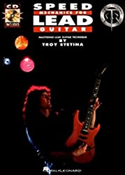Speed Mechanics For Lead Guitar Tab Book/Cd (Troy Stetina)