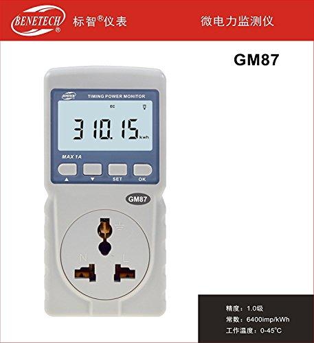YRFS Intelligente Power Meter Monitor Maßnahme Verbrauch AC Active CO2-Emissionen in Haus verwendet gm87