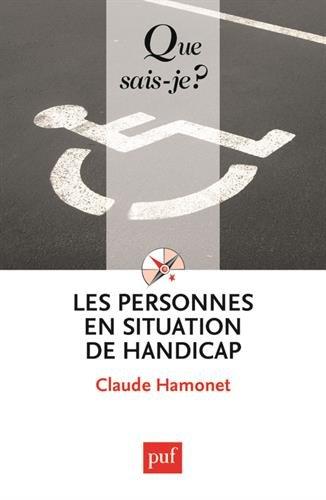Les personnes en situation de handicap par Claude Hamonet